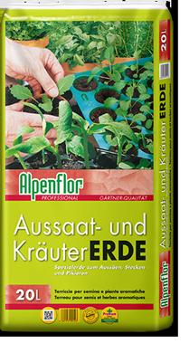 Alpenflor Aussaat- und Kräutererde