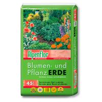 Alpenflor Blumen- und Pflanzerde Beitragsbild
