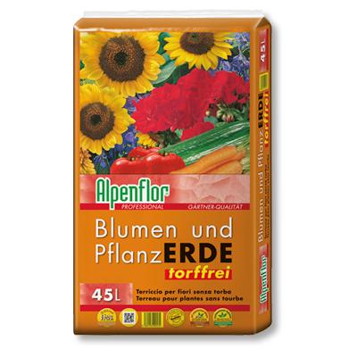 Alpenflor Blumen- und Pflanzerde torffrei Beitragsbild