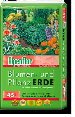 Alpenflor Blumen- und Pflanzerde