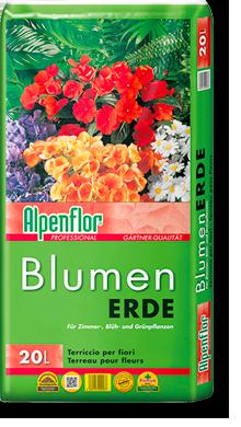 Alpenflor Blumenerde