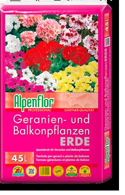 Alpenflor Geranien- und Balkonplfanzerde