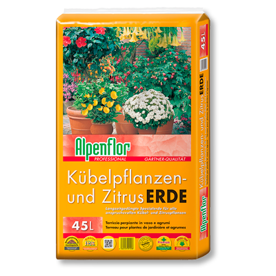 Alpenflor Kübelpflanzen- und Zitruserde Beitragsbild