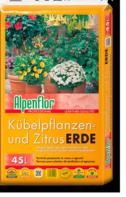 Alpenflor Kübelpflanzen- und Zitruserde