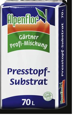 Alpenflor Presstopf Substrat