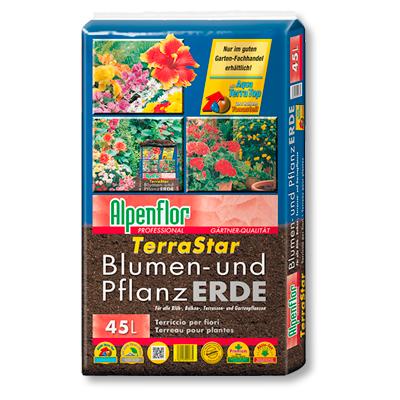 Alpenflor Terrastar Blumen- und Pflanzerde Beitragsbild