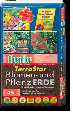 Alpenflor Terrastar Blumen- und Pflanzerde