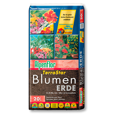 Alpenflor Terrastar Blumenerde Beitragsbild