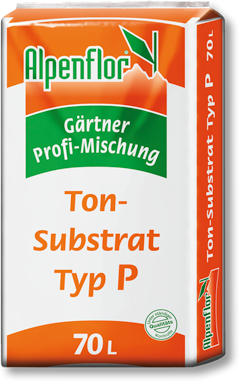 Alpenflor Tonsubstrat Typ P