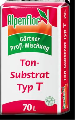 Alpenflor Tonsubstrat Typ T