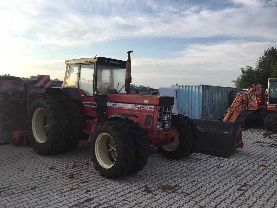 Traktor von Alpenflor