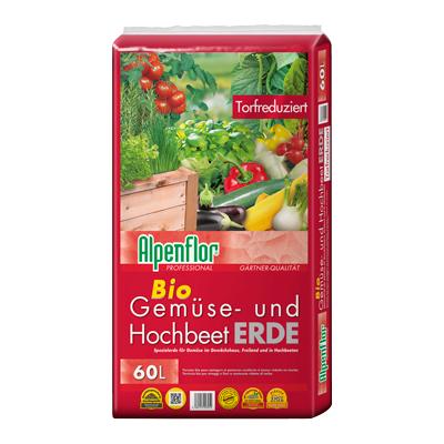 Alpenflor Gemüse- und Hochbeeterde Beitragsbild