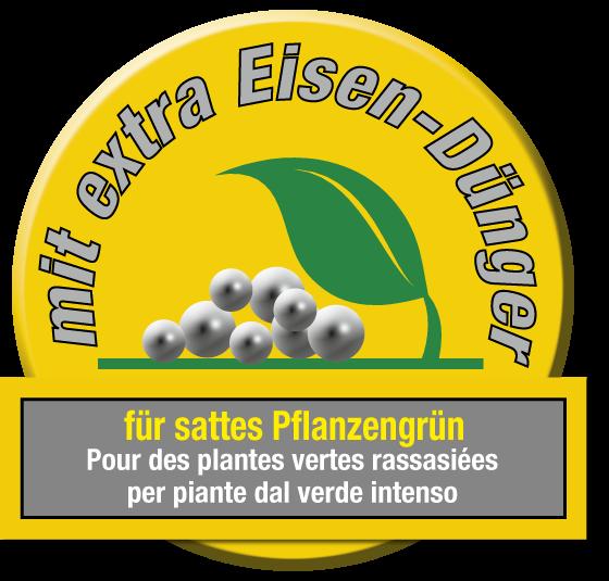Alpenflor Siegel mit extra Eisen-Dünger